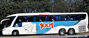 Passagens da Auto Viação 1001 pela Internet