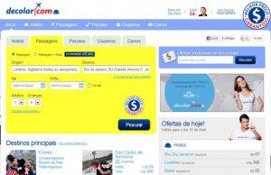 Como comprar passagens aéreas na Decolar.com