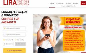 Comprar passagem da LiraBus pela internet, app e telefone