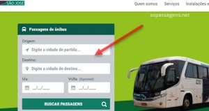 Comprar passagens da Viação Rodotur São José