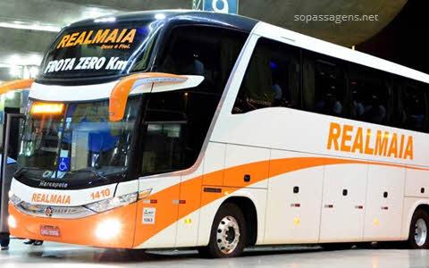 Ônibus Realmaia, passagens da Realmaia Goiânia pela internet