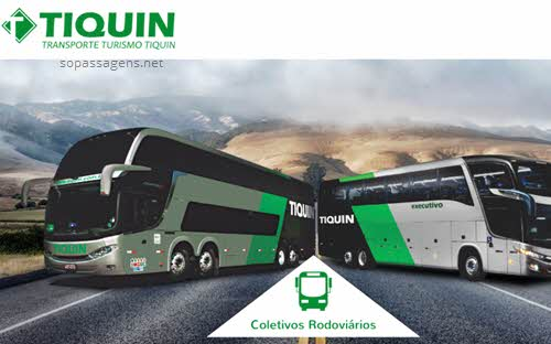 Site oficial Tinquin, passagens Tiquin pela internet