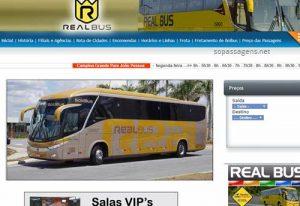 Passagens Real Bus pela internet