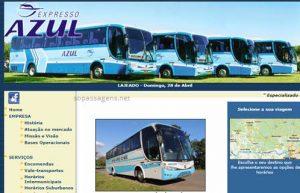 Passagens Expresso Azul pela internet