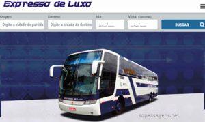 Passagens Expresso de Luxo pela internet