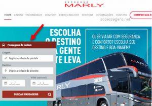 Passagens Expresso Marly pela internet