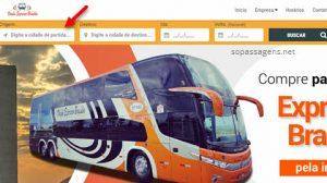 Passagens da Expresso Brasília pela internet