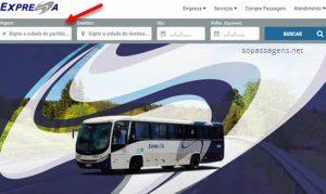 Passagens Expressa Transportes pela internet