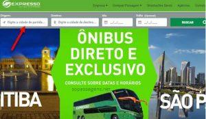 Passagens Expresso Transporte e Turismo pela internet