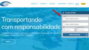 Passagens Cordial Transportes e Turismo pela internet, app e telefone