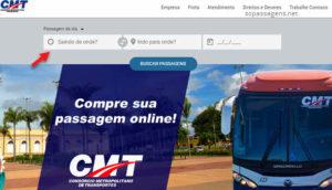Passagens do Consórcio Metropolitano de Transporte Cuiabá online