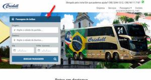 Como comprar Passagens da viação Crisbell pela internet e telefone