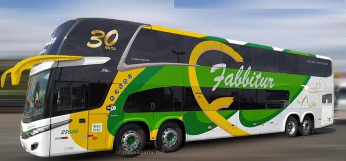 Como comprar passagens da Fabbitur Turismo